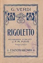 Giuseppe Verdi  «Rigoletto»
