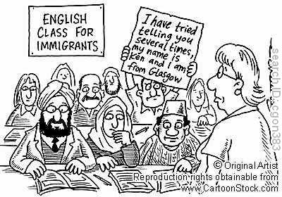 Про імітацію акценту іноземців