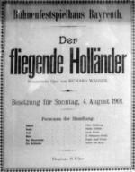 Richard Wagner «Der fliegende Holländer»