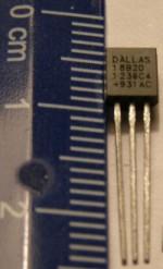 Про температурные датчики DS18B20