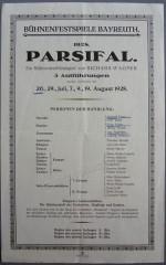 """Richard Wagner """"Parsifal"""""""