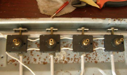 Ремонт газовой варочной панели горенье своими руками 73