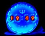 Теплые ламповые часы (The warm nixie tube clock)