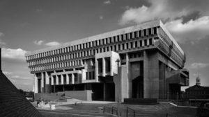 Бостон. Сити-холл, 1968 г.